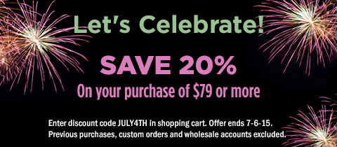 Let's celebrate! Get 20% off orders of $79+!
