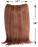 HBT/TT 11X18 Hair Extension by Look of Love
