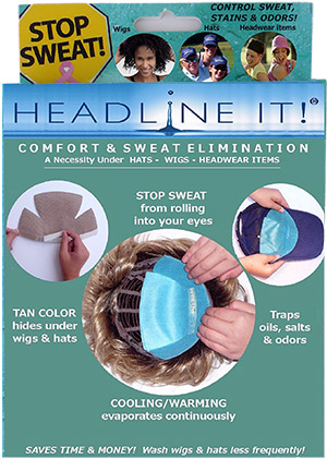 No Sweat Comfort Liners by Headline It!