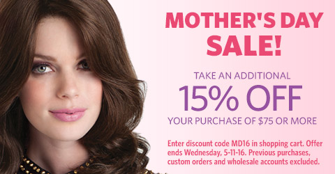 Mother's Day Sale! Save 15% on $75+ orders!