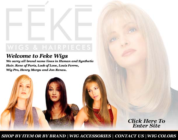 Wigs, Hairpieces & Hair Extensions at Feke